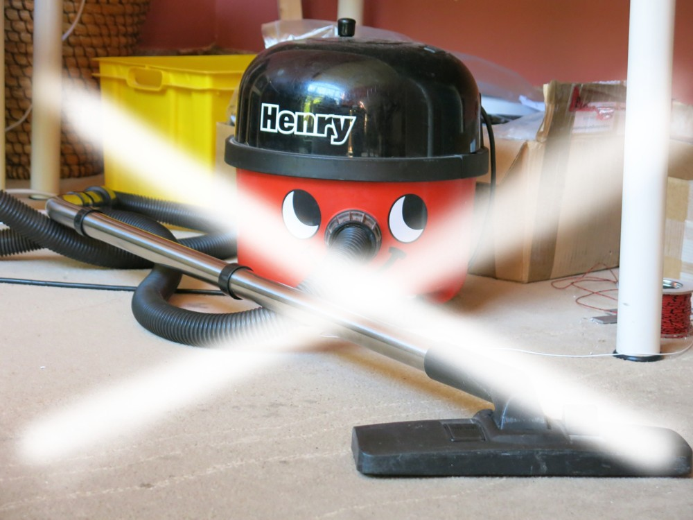 Henry the hoover is banned