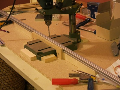 jig to drill holes in frame